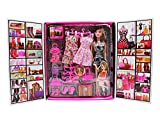 JVM Girl Doll and Her Personal Style Wardrobe Set Toy for Kids Girl's Fashion Stylish Dresses and...
