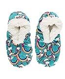 Lazy One Fuzzy Feet Slippers for Women, Cute Fleece-Lined House Slippers, Unicorn,...