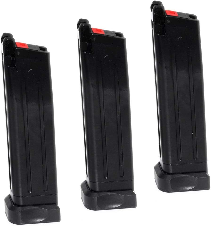 Airsoft New sales Parts EMG STI 2011 DVC3 3pcs 30rd for Magazine Gas Army low-pricing