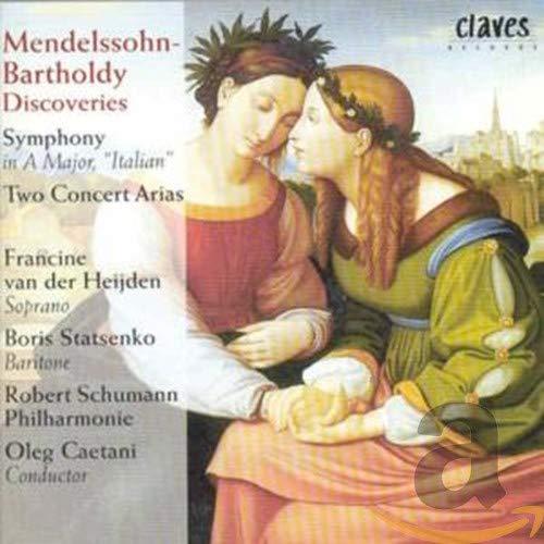 Felix Mendelssohn - Symphony In A Maj./Two Concert Arias