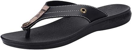 fa138e66c93 HOSOME Men s Slippers Casual Flats Platform Flip Flops Antiskid Men Beach  Shoes