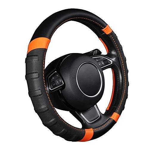 Auto Steering Wheel Cover ademend en Non Slip Microfiber Leren stuur Cover Universal 38cm / 15 inch
