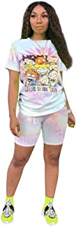 BeaLin Women 2 Piece Outfits Summer Tracksuits Short Sleeve T Shirt and Bodycon Pants Set
