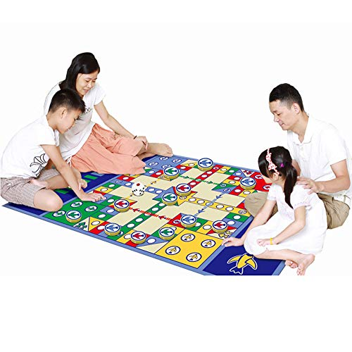 Board Games, Vliegtuig Schaken Crawl Puzzle Mat Flying Set Waterproof Play Game Baby Kinderen Educatieve 180 * 120Cm