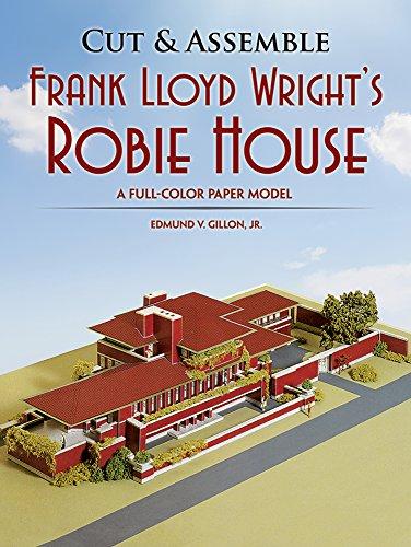 CUT & ASSEMBLE FRANK LLOYD WRI: A Full-Color Paper Model (Cut & Assemble Buildings in H-O Scale)