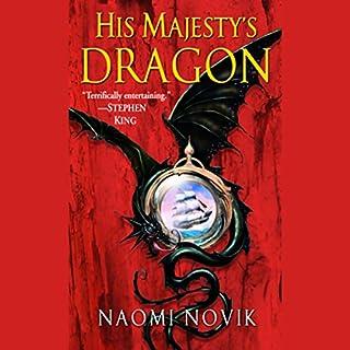 Couverture de His Majesty's Dragon