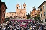 Nonebranded Puzzle Jigsaw Puzzle Jigsaws 500 Piezas The Spanish Steps In Rome Italy Arte De Bricolaje para Adultos Mayores