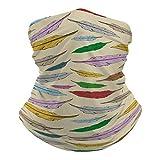 Yolocal Kopftuch für Damen, geometrisches Muster,...