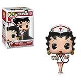 Funko- Pop Vinyl: Animation: Betty Boop: Nurse Figura de vinilo - coleccionable, Multicolor, Estánda...