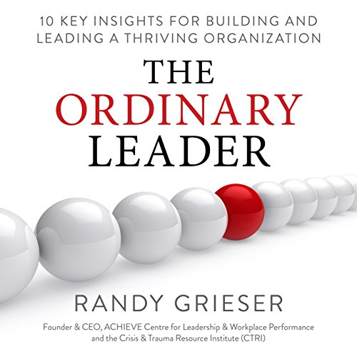 The Ordinary Leader Audiobook By Randy Grieser cover art