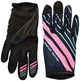Pearl Izumi Divide Glove, Mid Navy/Atomic Red Mtn, Large