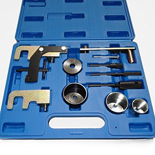 12 teilig Zahnriemen Wechsel und Nockenwellen Werkzeug Arretierwerkzeug für Nissan Opel Renault DCI TDI DTI