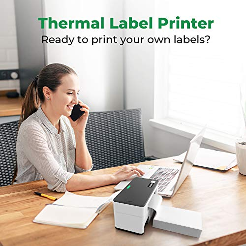 MUNBYN Thermal Label Printer 4x6, High-Speed 150mm/s Direct USB Thermal Barcode 4×6 Shipping Label Printer Maker Writer Machine, One Click Set up,Compatible with Ebay, Amazon, FedEx,UPS,Shopify,Etsy