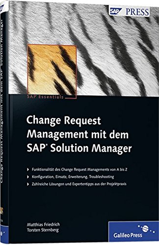 Change Request Management mit dem SAP Solution Manager (SAP PRESS)