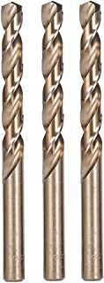 Hymnorq 11mm Metric Twist Drill Bit Set of 3pcs - Jobber Length Fully Ground Straight Shank - 5% Cobalt M35 Grade HSS-CO, Extremely Heat Resistant - Suitable for Stainless Steel Cast Iron