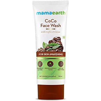 Mamaearth CoCo Face Wash for Women, with Coffee & Cocoa for Skin Awakening – 100ml