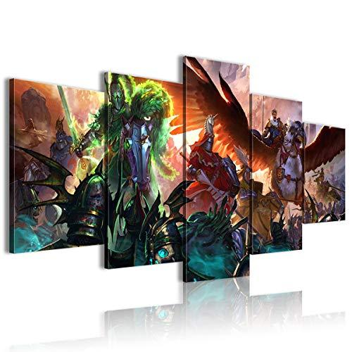 CAFO Nuova casa regalo Warhammer Total War 5 Pannello Pittura Poster da Parete 100x50cm senza cornice
