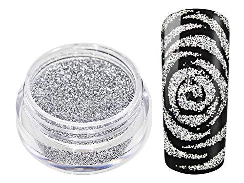 Nail Art - Clouer Silver Art Glitter Powder