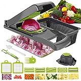 Vegetable Chopper Yibaision Mandoline Slicer Dicer For Fruits Vegetables,...