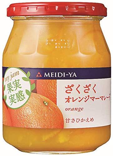 明治屋「果実実感ジャムざくざくオレンジマーマレード」