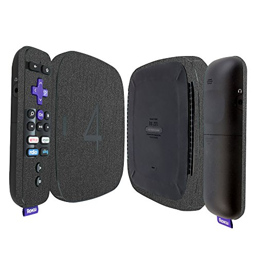 Best Review Of Skinomi Brushed Steel Full Body Skin Compatible with Roku 4 (Full Coverage) TechSkin ...