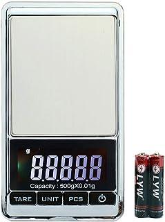 Balanada 改良版 ポケットスケール 高精度デジタルスケール500g / 0.01gリロード、携帯タイプ ポケットデジタル スケール 業務用(プロ用) 計測