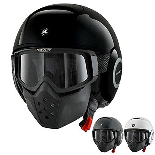 Shark RAW ブランク ヘルメット X-Small ブラック HE3010DBLKXS