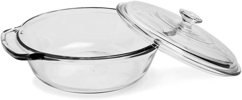 Anchor Luxury Brand new Hocking 2 quart Clear Casserole Glass Dish