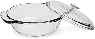 Anchor Hocking 81932OBL11 2 quart Glass Casserole Dish, Clear
