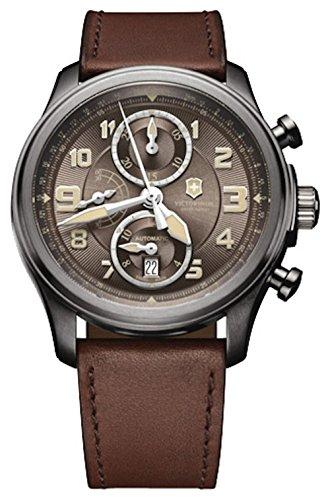 Victorinox Infantry Vintage Reloj para Hombre Analógico de Automático con Brazalete de Piel de Vaca V241520