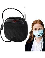 Amplificador de Voz, Siebwin Amplificador de voz Portatil 10 W 2000 mAh, tamaño pequeño, con Micrófon con Cable para Profesores, Guía Turístico y más