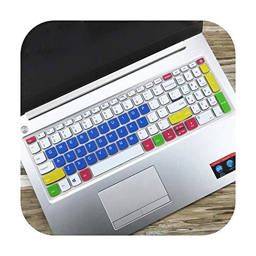 Keyboards For Lenovo Notebook V340 V340-17Iwl L340-17Irh L340-17Api L340-17Iwl L340 17Irh V340 17Iwl 17 17.3'' Laptop Keyboard Cover Skin-Candyblue