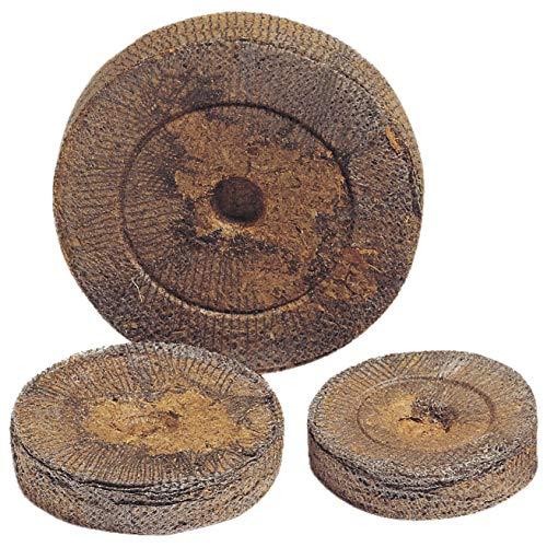 100 Jiffy Torf-Quelltabletten Quelltöpfe Aussaaterde Anzuchterde Torftablette Kokos-Quelltabletten