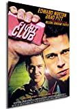 Instabuy Poster Fight Club Vintage Affiche - A3 (42x30 cm)