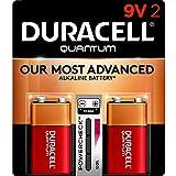 Duracell - Quantum 9V Alkaline Batteries - long lasting, all-purpose 9 Volt...