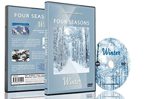 Natur DVD - Vier Jahreszeiten - Winter mit natürlichen Geräuschen