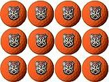arcollectibles Caddyshack Inspired Bushwood Country Club Logo Wilson Orange Golf Balls (One Dozen)