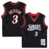 Philadelphia Camiseta de baloncesto juvenil Allen #3 76ers Retro Iverson Fan Jersey baloncesto camiseta sin mangas ropa deportiva – negro