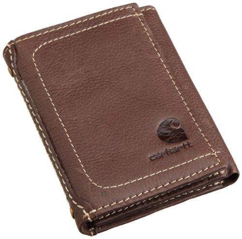 Carhartt Pebble Trifold Wallet 61-2200.BRN, braun, 61-2200