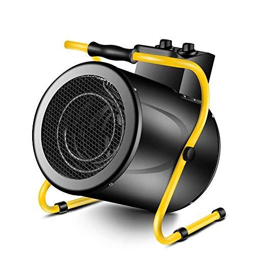Calentadores Eléctricos de Invierno Calentadores Eléctricos Calefacción y Refrigeración de Alta Potencia Ventilador de Calefacción Doméstico de Doble Propósito Ventiladores Comerciales Industriales