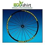 Ecoshirt EQ-7F31-IHCX Pegatinas Stickers Llanta Rim Mavic Crossmax SL Pro Am50 MTB Downhill, Amarillo 29'