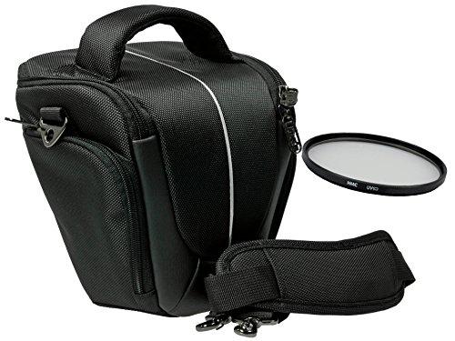 Foto Kamera Tasche Yuma Halfter M Set mit UV Filter 55mm für Sony Alpha 7 R II B mit Objektiv SEL 28-70mm KB