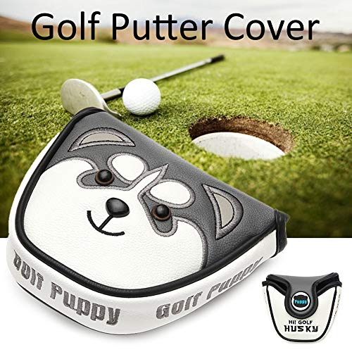 STARTER Golfschläger Putter Cover Headcover Mit Magnetverschluss Golf Headcover Für Scotty Cameron Taylormade Odyssey 2 Ball Club