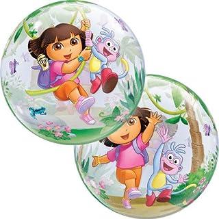 "Dora The Explorer & Boots Qualatex 22"" Bubble Balloon"