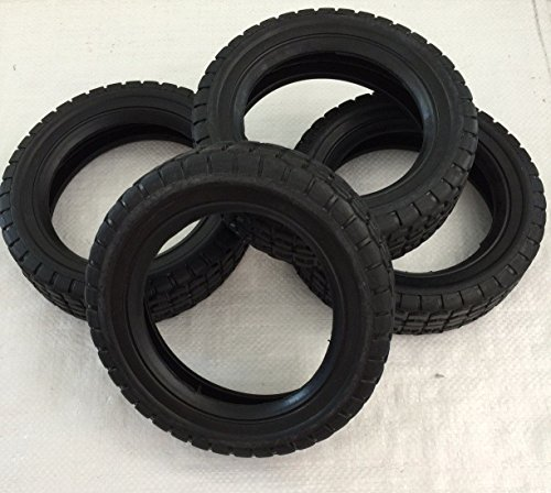 "Mclane Edger & Rotary Mower Replacement 8"" Tire (Part#7061-7) Made in USA (4Pack)"