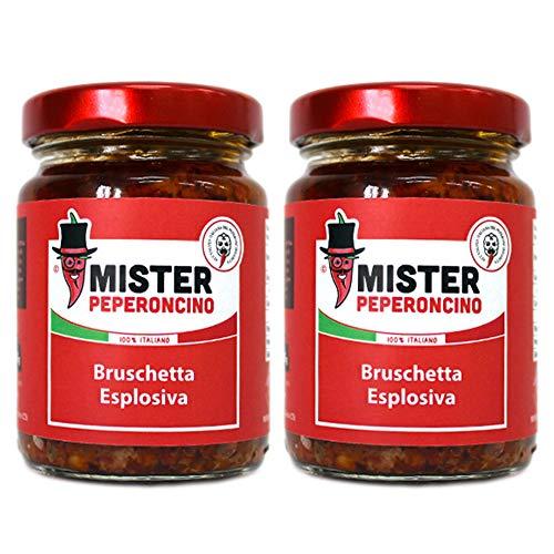 Bruschetta Esplosiva (95gr x2) - Mister Peperoncino
