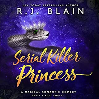 Serial Killer Princess: A Magical Romantic Comedy (with a Body Count) cover art