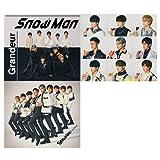 【3種セット】Snow Man 3rdシングル Grandeur3種セット (初回盤A 初回盤B 通常初回仕様) CD DVD メーカー特典3種
