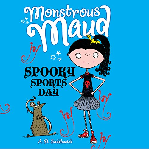 Monstrous Maud: Spooky Sports Day audiobook cover art