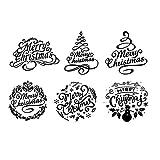 ZChun Sello de Silicona de Navidad, DIY Scrapbooking Tarjeta de Papel de impresión